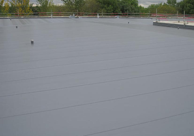 Dak voorzien van nieuwe dakbedekking